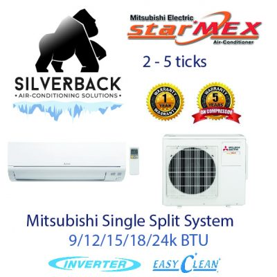 Mitsubishi Electric Single Split-01