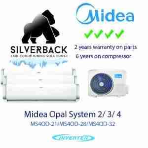 Midea system 2 aircon