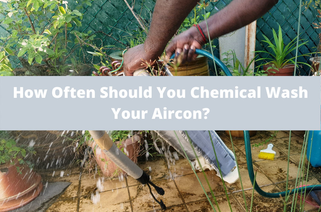 How often should you chemical wash your Aircon | Scam prevention