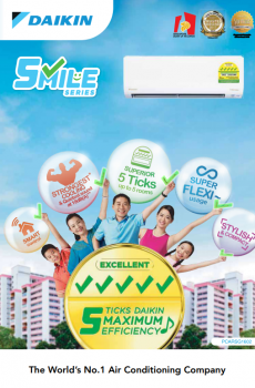 Daikin Smile Series