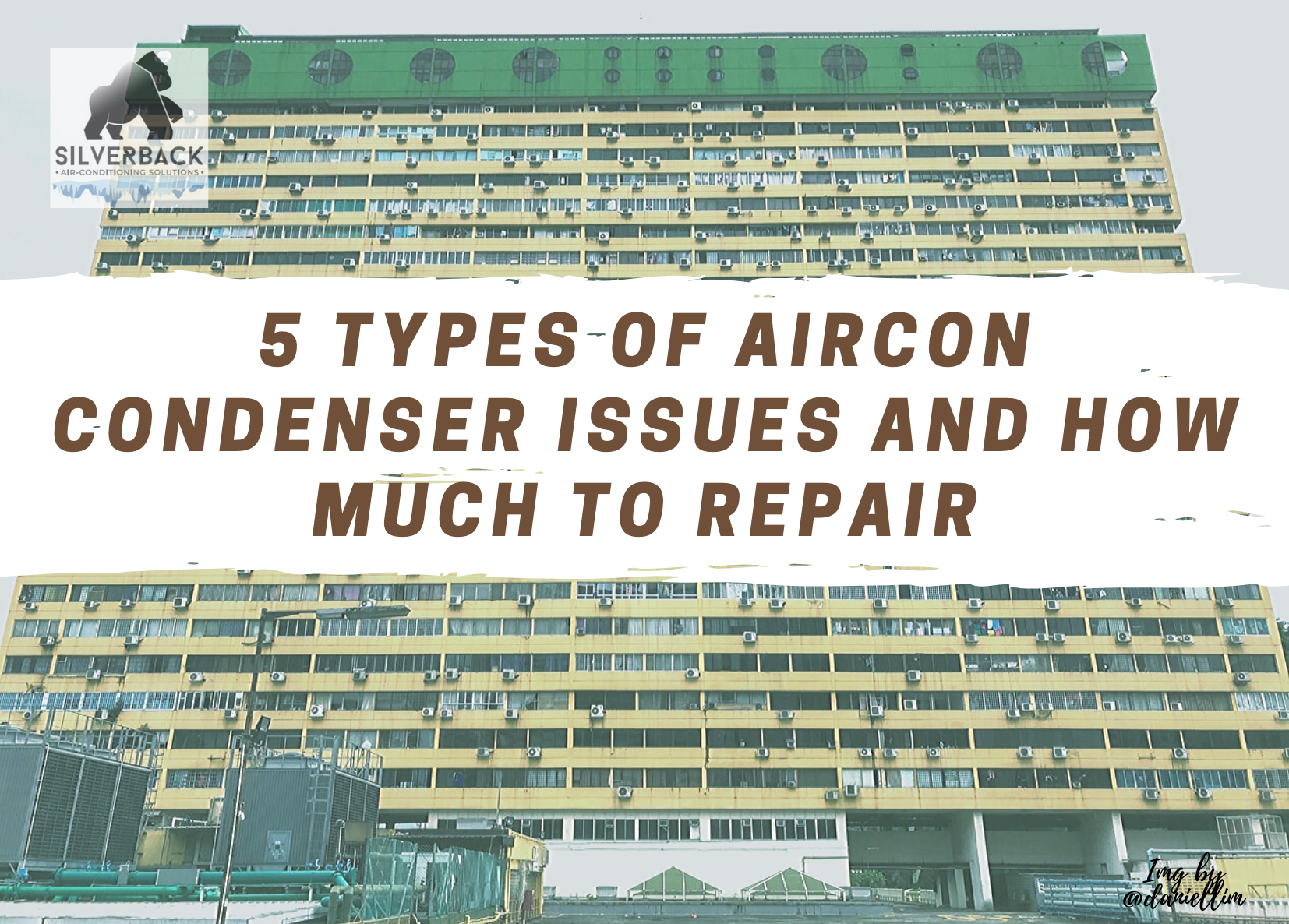 5 types of Aircon Condenser issues and how much to repair
