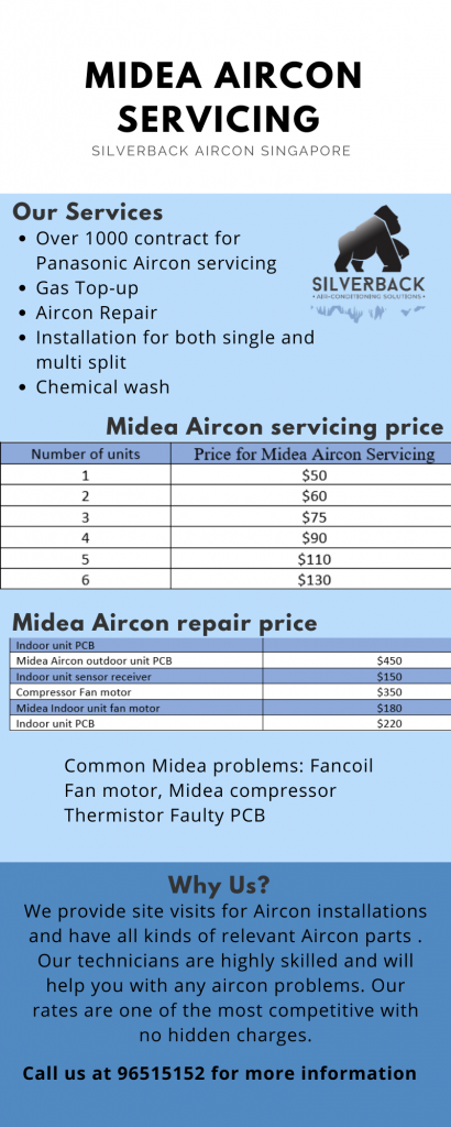 Midea Aircon servicing